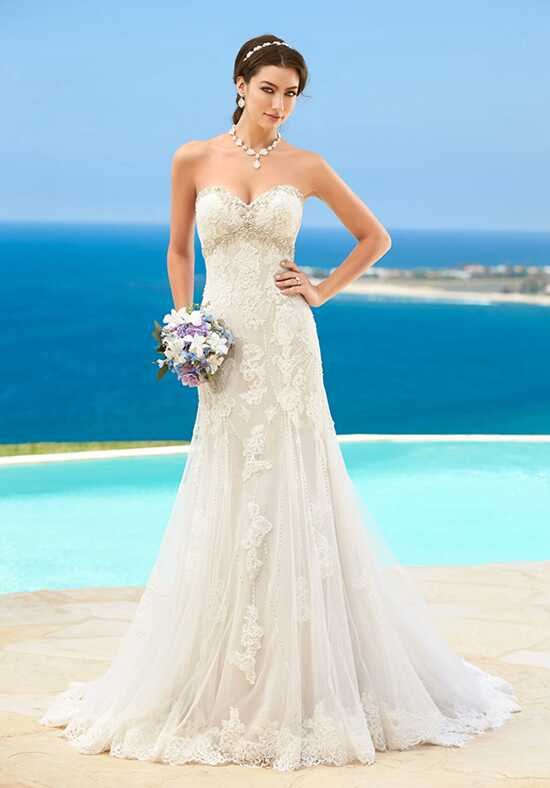 KITTYCHEN Couture KAYLA, H1617 Sheath Wedding Dress