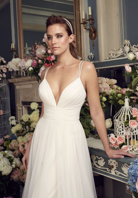 Mikaella 2155 A-Line Wedding Dress