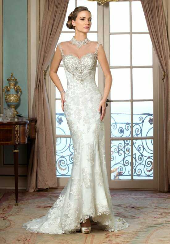 KITTYCHEN Couture MONROE, H1419 Sheath Wedding Dress