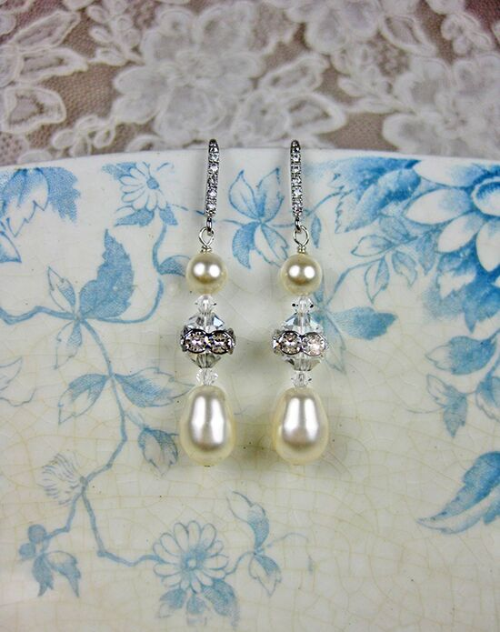 Everything Angelic Paulina Earrings - e356 Wedding Earring photo
