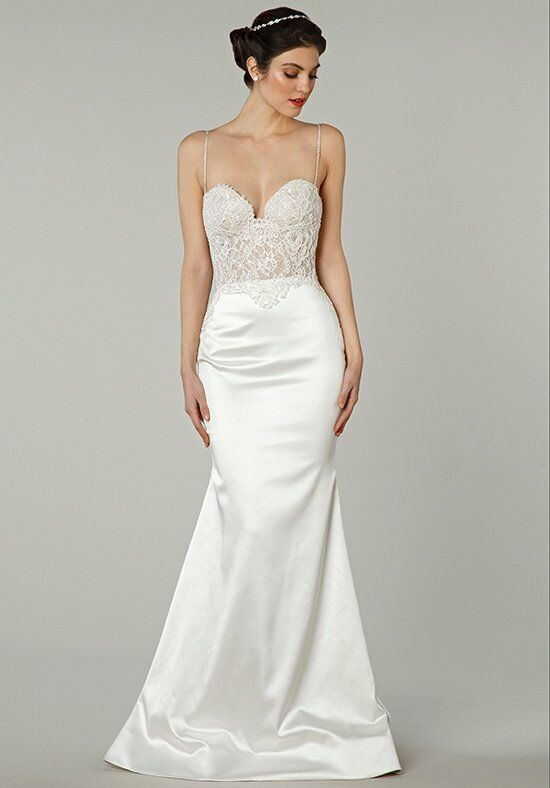 Pnina Tornai for Kleinfeld 4377 Sheath Wedding Dress