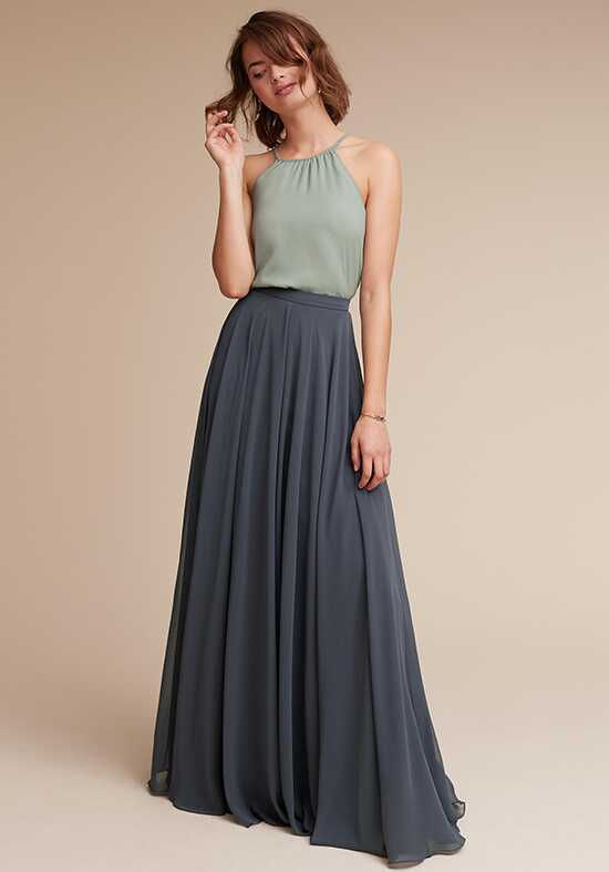 BHLDN (Bridesmaids) Hunter Top & Hampton Skirt Halter Bridesmaid Dress