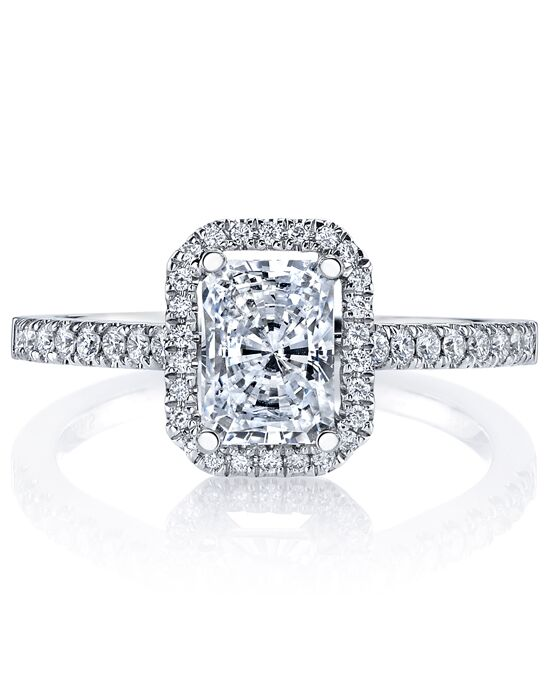 MARS Fine Jewelry Classic Emerald Cut Engagement Ring