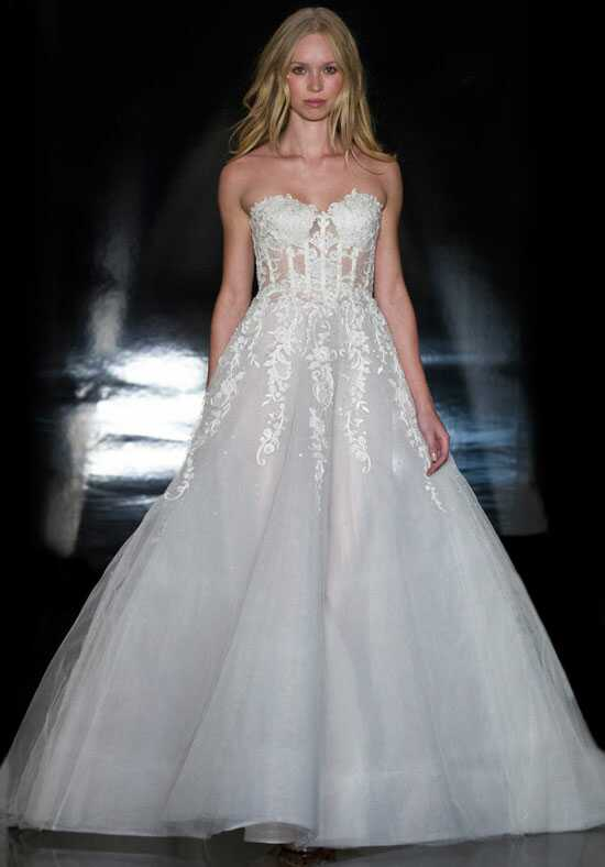 Reem Acra Claudia Ball Gown Wedding Dress