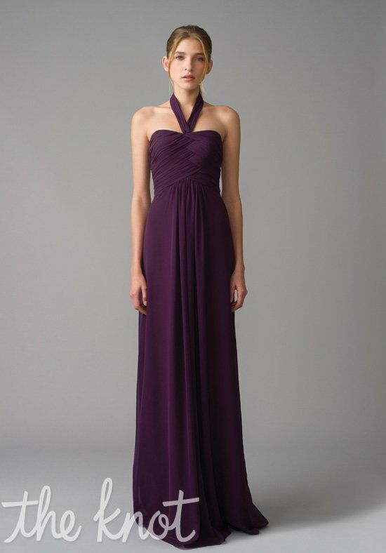 Monique Lhuillier Bridesmaids 450021 Halter Bridesmaid Dress