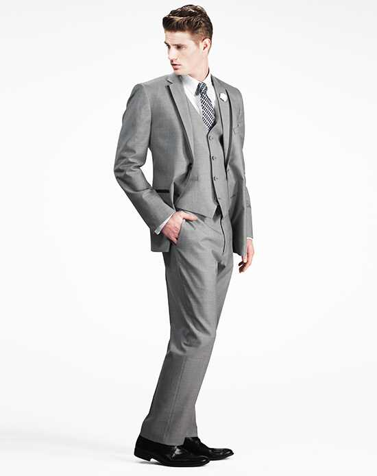 Generation Tux Light Gray Notch Lapel Tux Gray Tuxedo