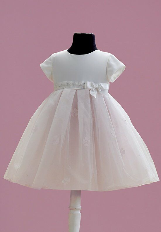 Joan Calabrese by Mon Cheri 215358B Pink Flower Girl Dress