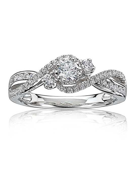 Rogers & Hollands® Vintage Round Cut Engagement Ring