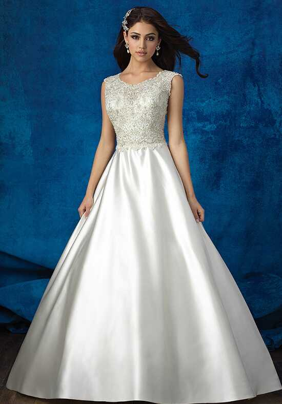 Allure Bridals 9357 Ball Gown Wedding Dress