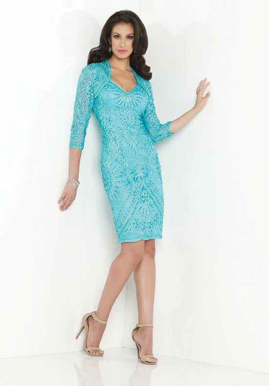 Social Occasions by Mon Cheri 115858 Blue Mother Of The Bride Dress