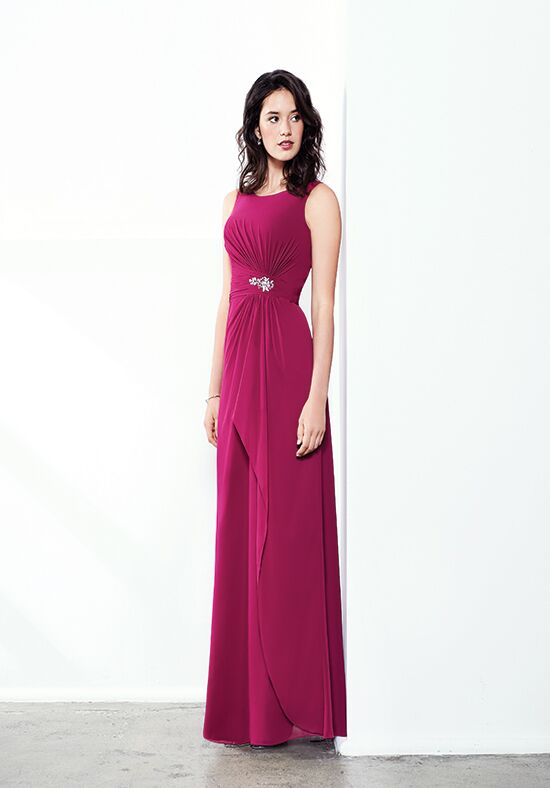 Colour by Kenneth Winston 5285L Bateau Bridesmaid Dress