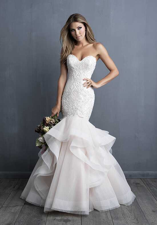Allure Couture C491 Mermaid Wedding Dress