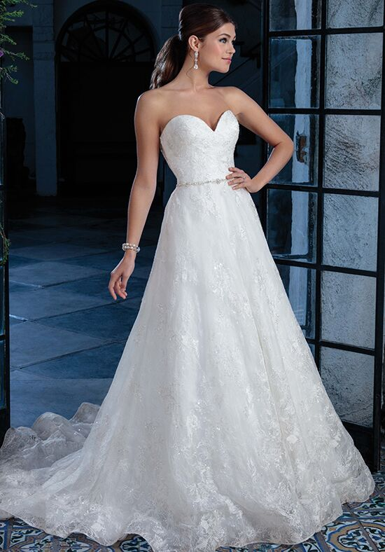Amaré Couture by Crystal Richard C129 Irena A-Line Wedding Dress