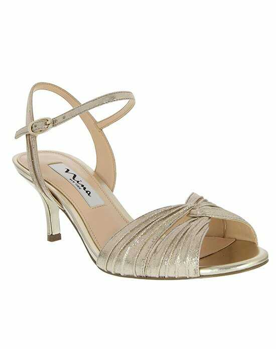 Nina Bridal Wedding Accessories CAMILLE_TAUPE Shoe