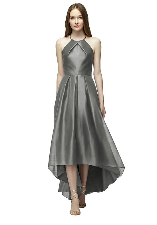 Lela Rose Bridesmaids LR233 Halter Bridesmaid Dress