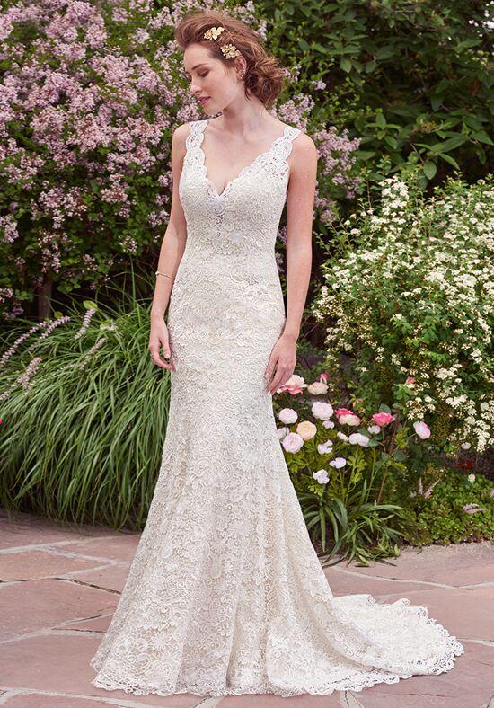Rebecca ingram hope wedding dress the knot for Wedding dress for 5ft bride