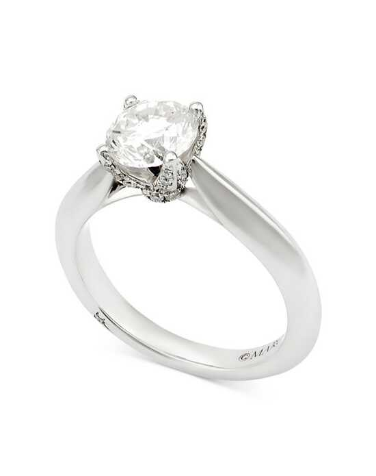 Macy's Fine Jewelry Classic Round Cut Engagement Ring