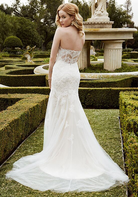 Blue Wedding Dresses Enzoani : Blue by enzoani islesboro wedding dress the knot