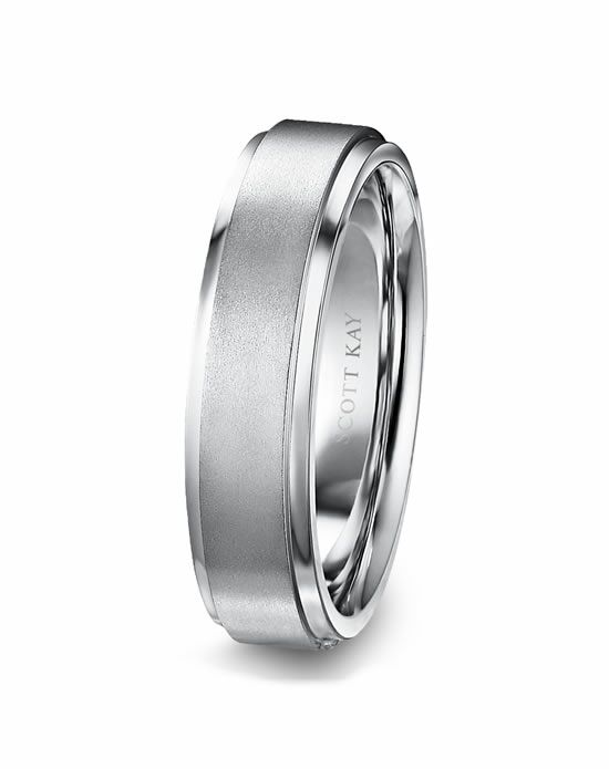 Scott Kay C0670C60-6 Platinum Wedding Ring
