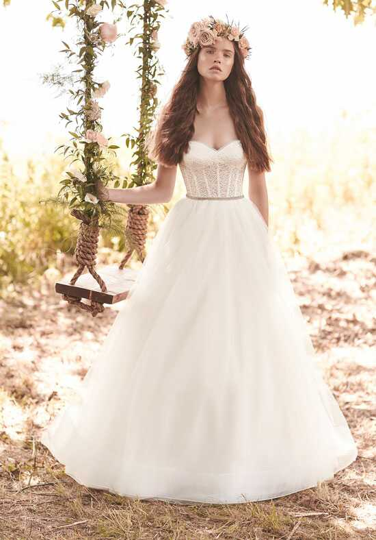 Mikaella 2065 A-Line Wedding Dress