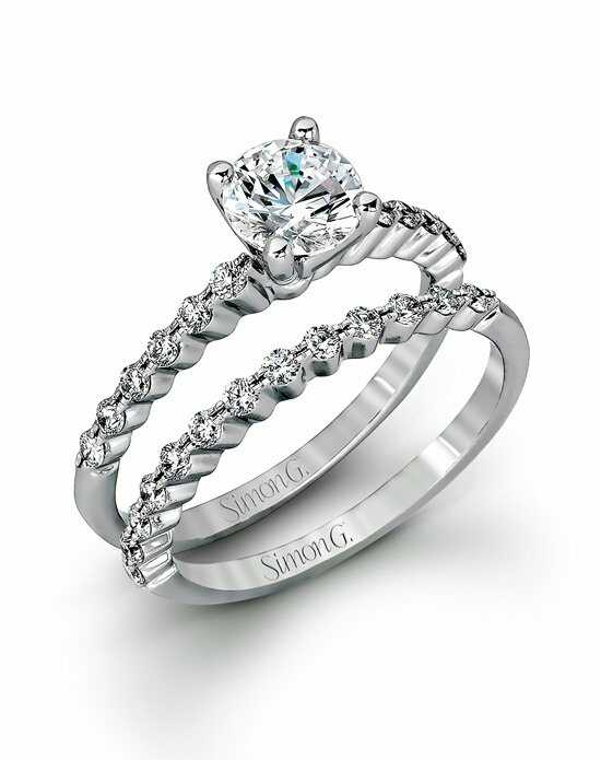 Simon G. Jewelry MR2173-D Engagement Ring photo
