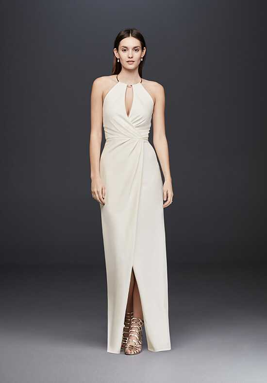 David's Bridal David's Bridal Collection Style 865983D Sheath Wedding Dress