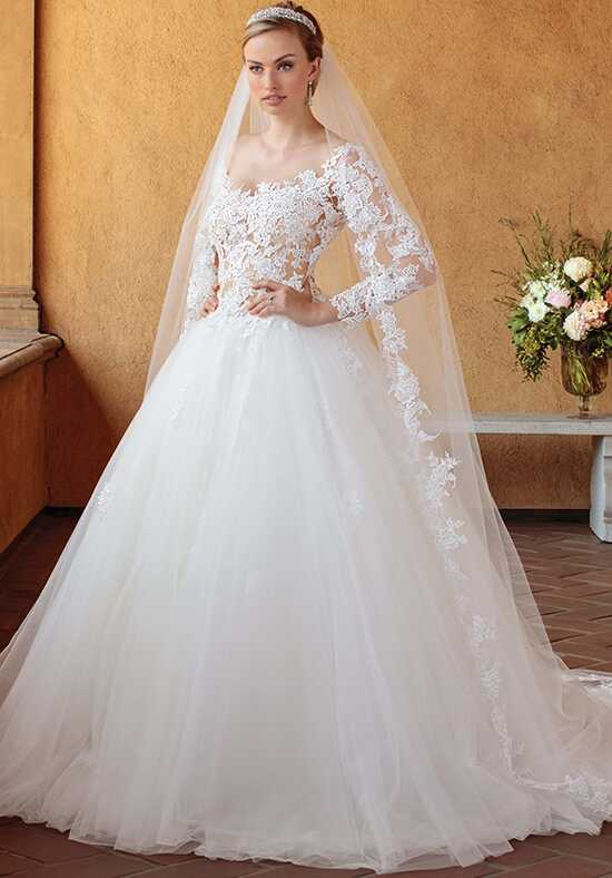 Casablanca Bridal 2309 Elsie Ball Gown Wedding Dress