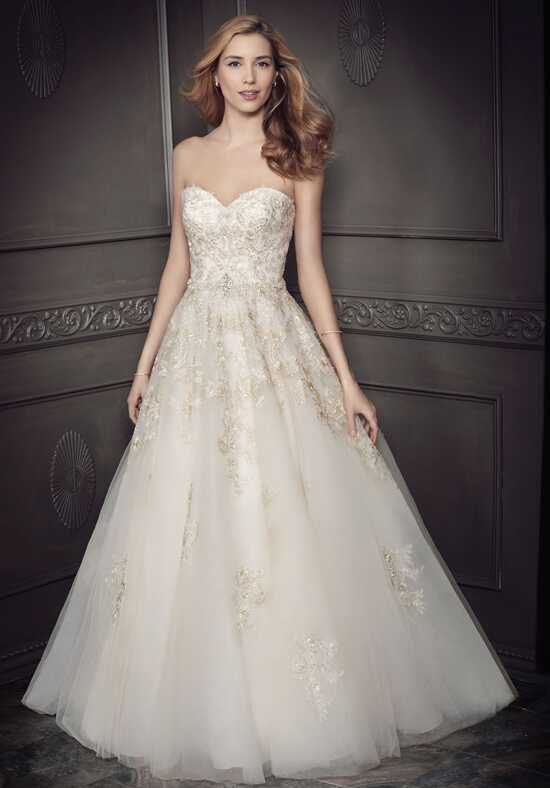 Kenneth Winston: Ella Rosa Collection BE335 Ball Gown Wedding Dress