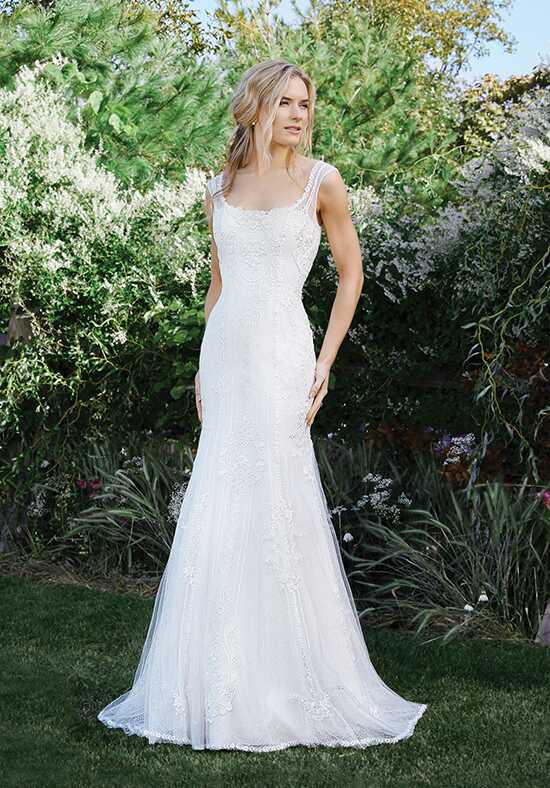 Lillian West 6435 Mermaid Wedding Dress