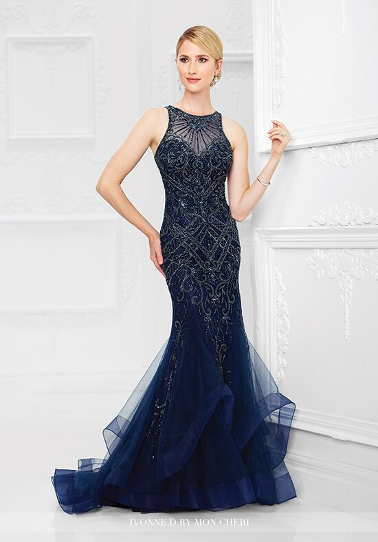 Ivonne D. 117D62 Blue Mother Of The Bride Dress