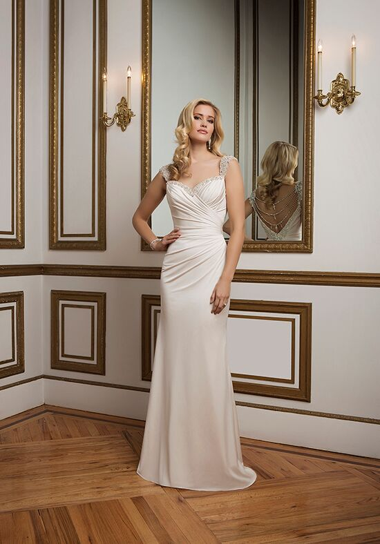 Justin Alexander 8820 Sheath Wedding Dress