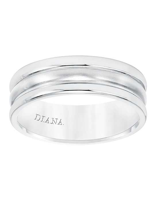 Diana 11-N8654W7-G White Gold Wedding Ring