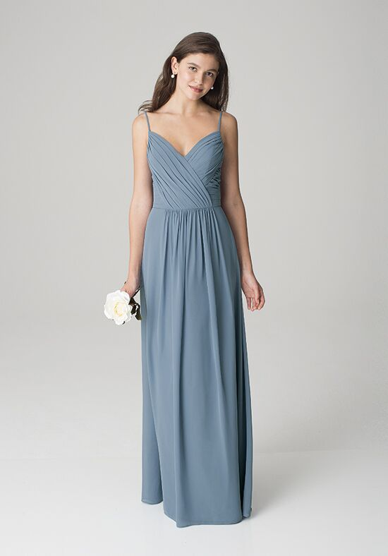 Bill Levkoff 1269 V-Neck Bridesmaid Dress