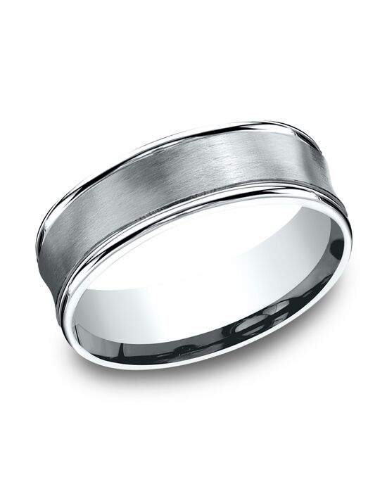 Benchmark RECF87500W White Gold Wedding Ring