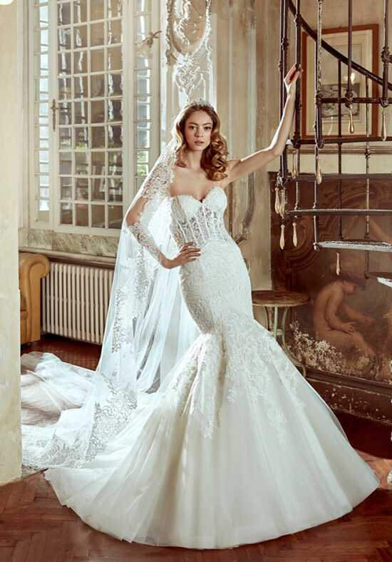 Nicole 2017 Collection NIAB17108 Mermaid Wedding Dress