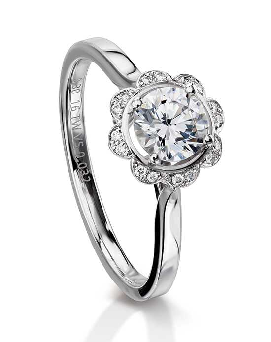 Furrer Jacot Engagement Rings 53-66840 Margrite Engagement Ring photo