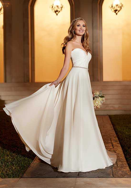 Stella York 6151 Sheath Wedding Dress
