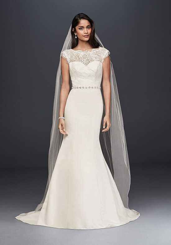 David's Bridal David's Bridal Collection Style WG3855 Mermaid Wedding Dress
