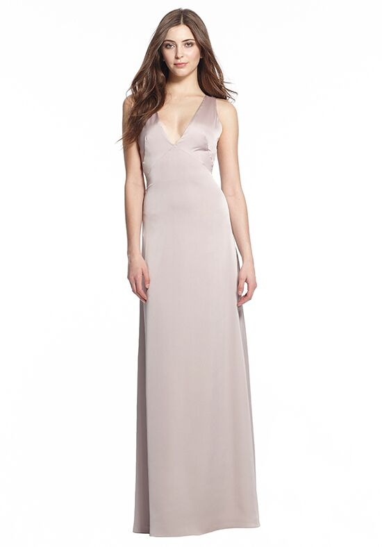 Monique Lhuillier Bridesmaids 450494 V-Neck Bridesmaid Dress