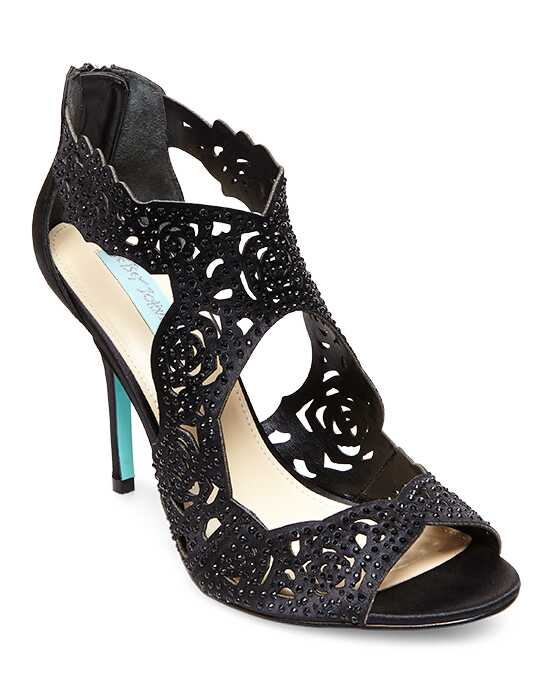 Blue by Betsey Johnson SB-LIVIE-black Black Shoe
