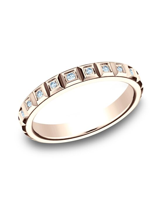 Benchmark 473682R Rose Gold Wedding Ring