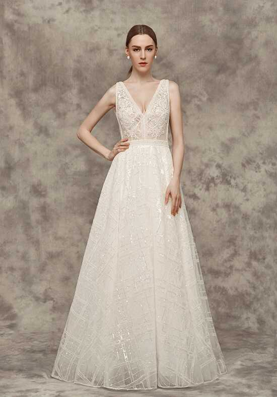 Calla Blanche 16250 Avian A-Line Wedding Dress
