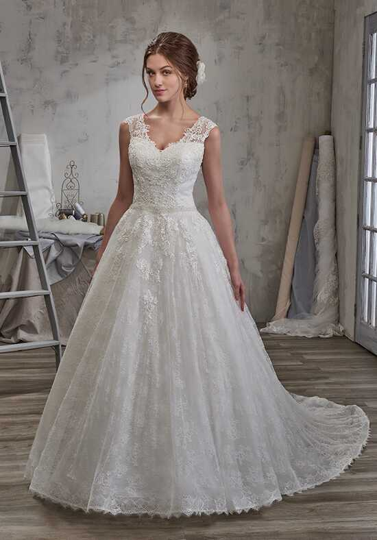 1 Wedding by Mary's Bridal 6585 Ball Gown Wedding Dress