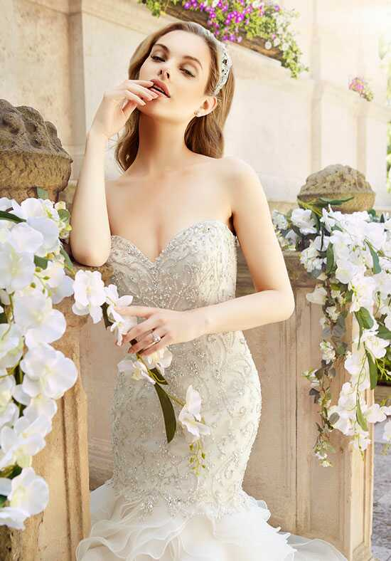 Moonlight Couture H1327 Mermaid Wedding Dress