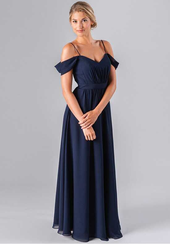 Kennedy Blue Thea Off the Shoulder Bridesmaid Dress