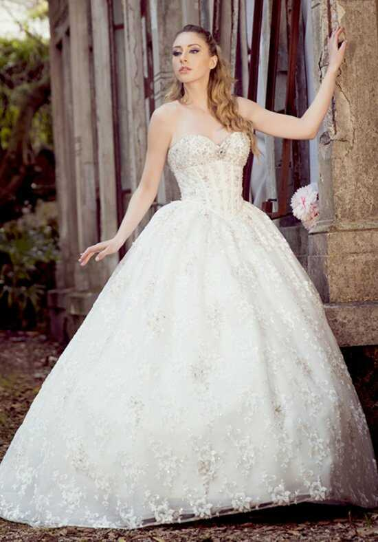 Ysa Makino KYM59 Ball Gown Wedding Dress