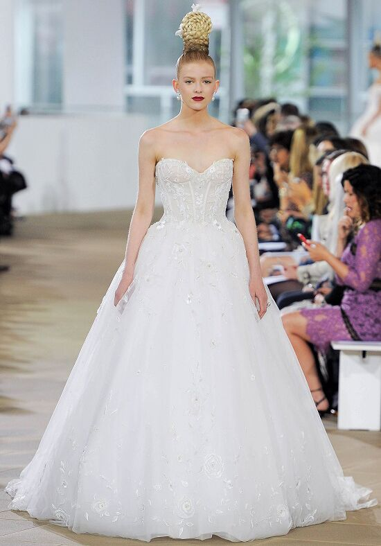Ines Di Santo Lucy Ball Gown Wedding Dress