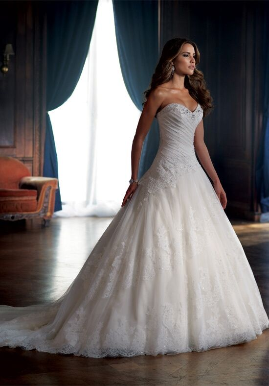 David Tutera For Mon Cheri 213250 Dallas Ball Gown Wedding Dress