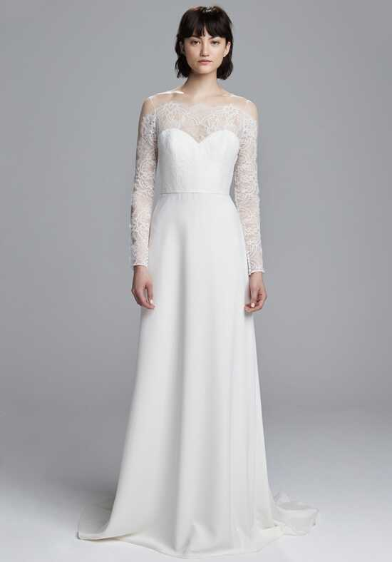 Christos Jess Sheath Wedding Dress