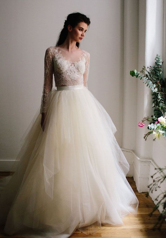 Lea-Ann Belter Ariel Top/Star Skirt Wedding Dress - The Knot